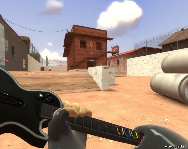 Team Fortress 2 модель оружия - гитара GH3 Guitar